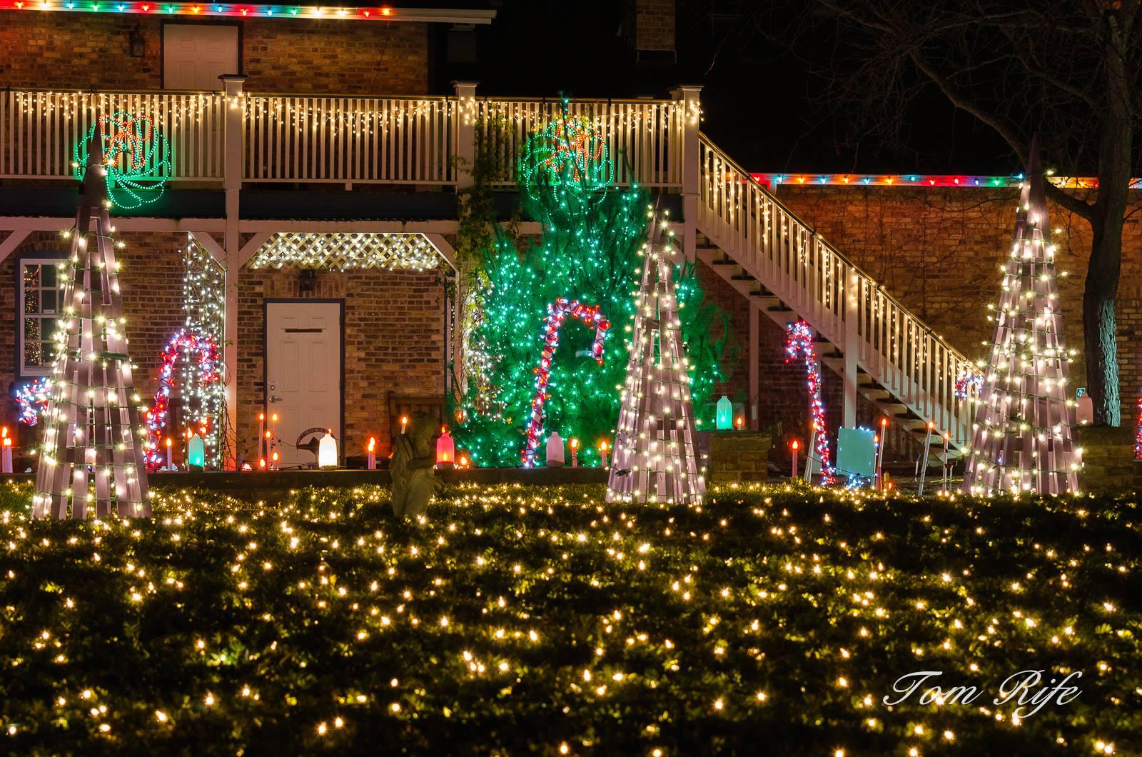 Holiday Light Show Rotary Botanical Gardens