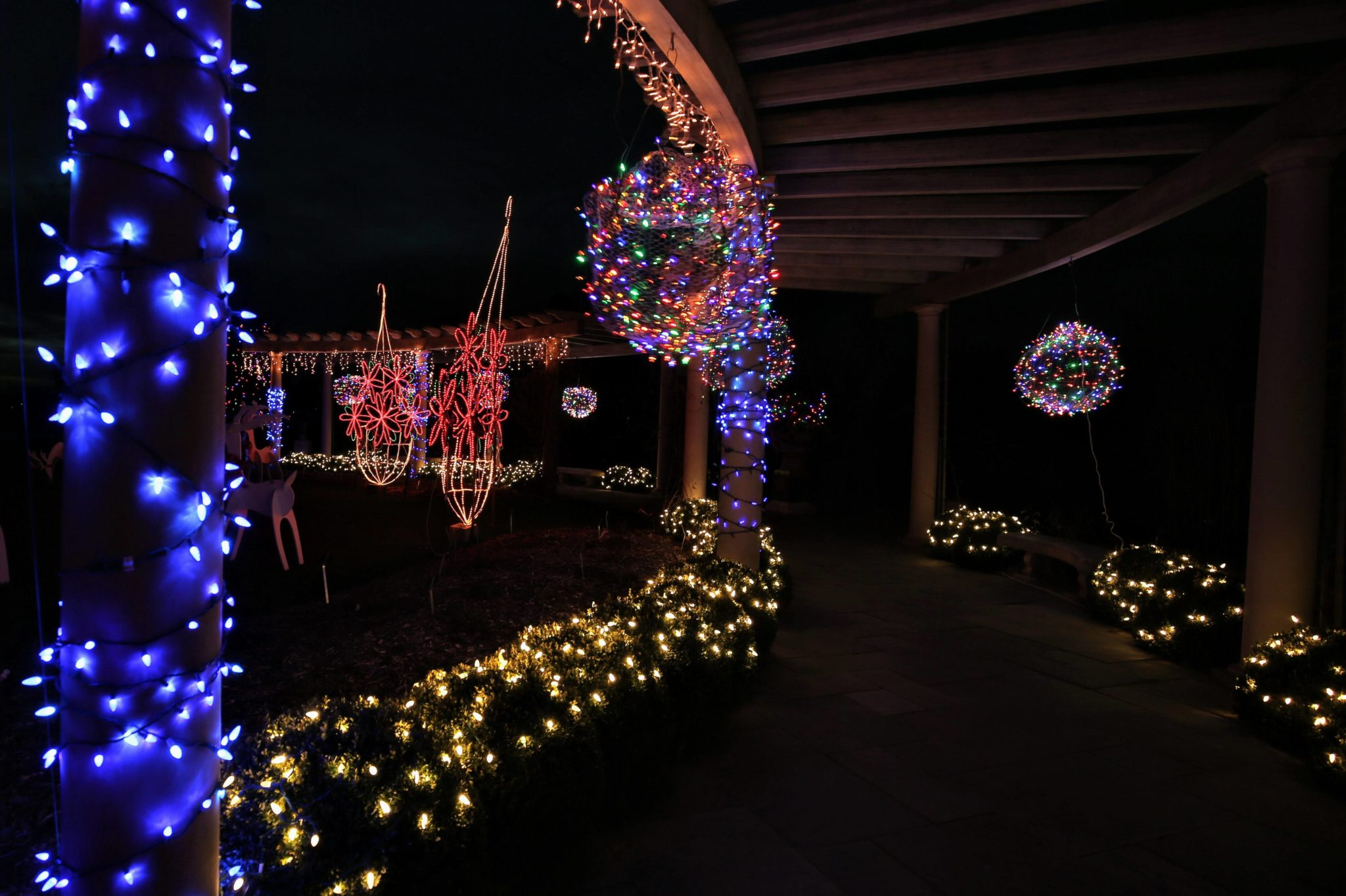 Holiday Light Show - Rotary Botanical Gardens