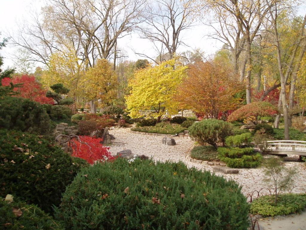 Famous Botanical Gardens Michigan Illustration - Brown Nature Garden ...