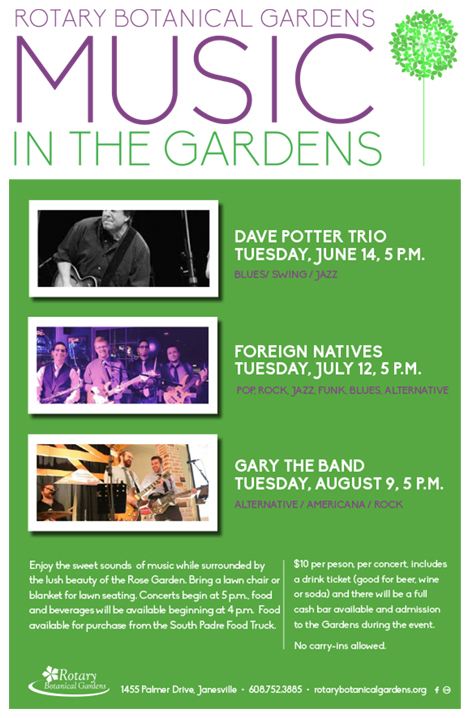 Music in the Gardens 2016