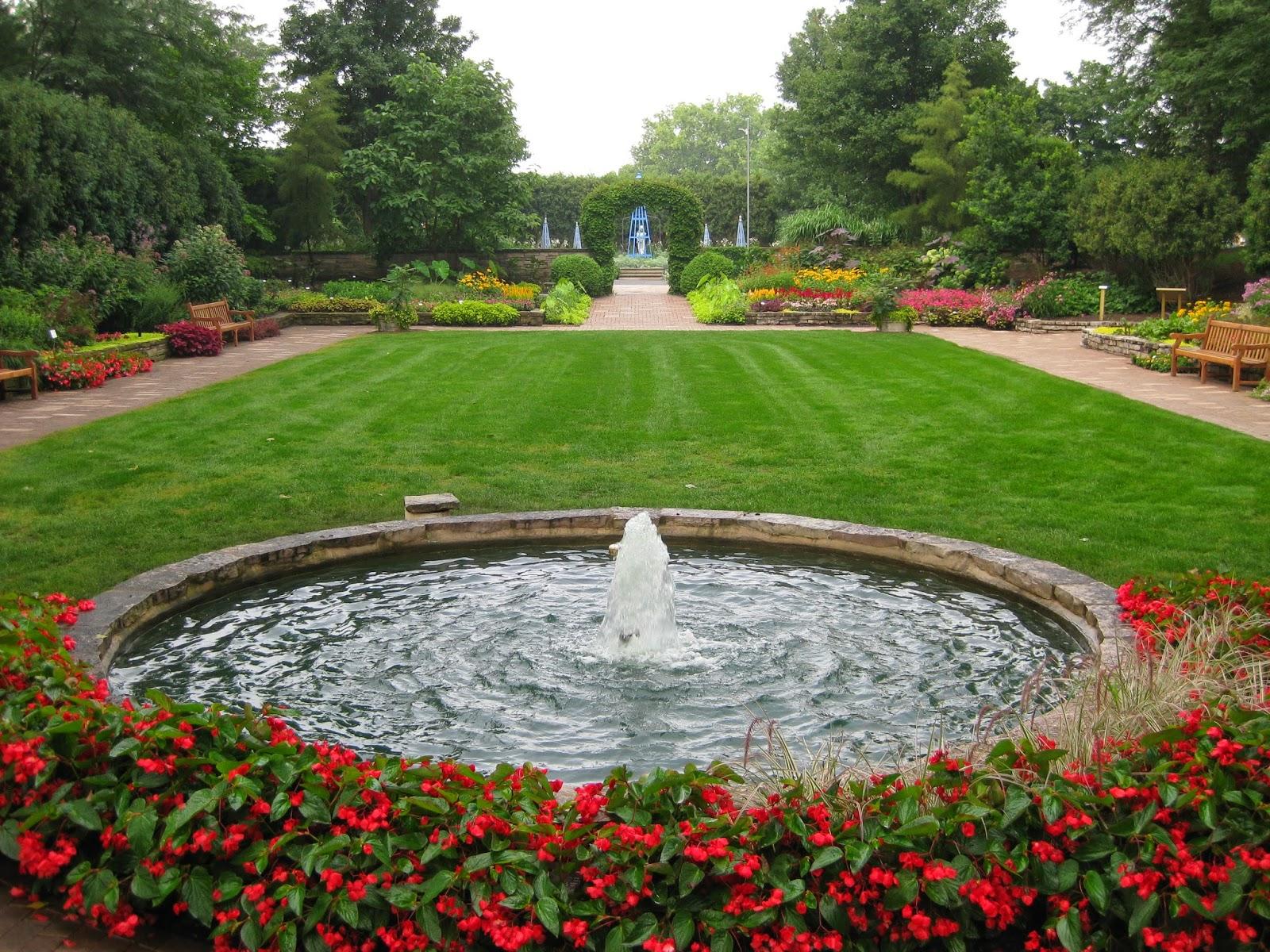 Sunken Garden Rotary Botanical Gardens